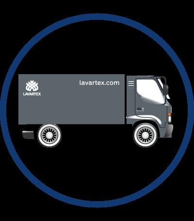Transporte de textiles